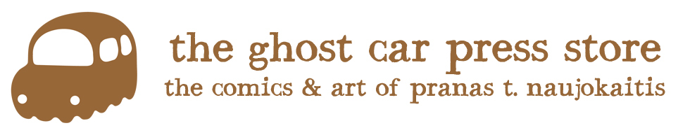The ghost car press store