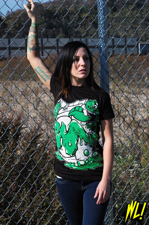 NICOLEchain large The Halloween T shirt Showcase; Ghosts, Ghouls, Zombies & Witches