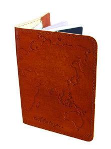 World Passport Cover - India