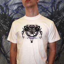 Gothic Spider-Skull design