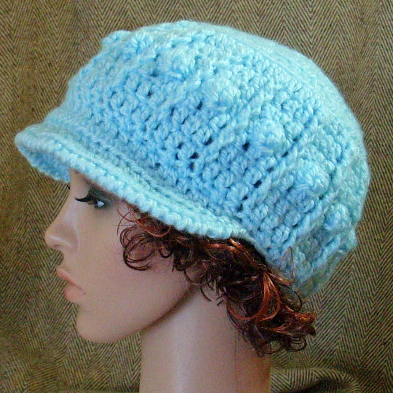 Crochet with Chunky Yarn Hat Patterns